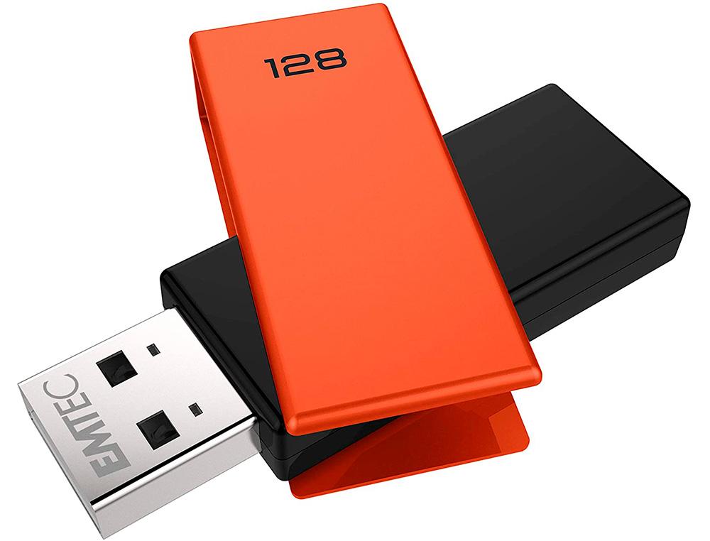CLÉ USB C350 BRICK 2.0 ORANGE 128Go