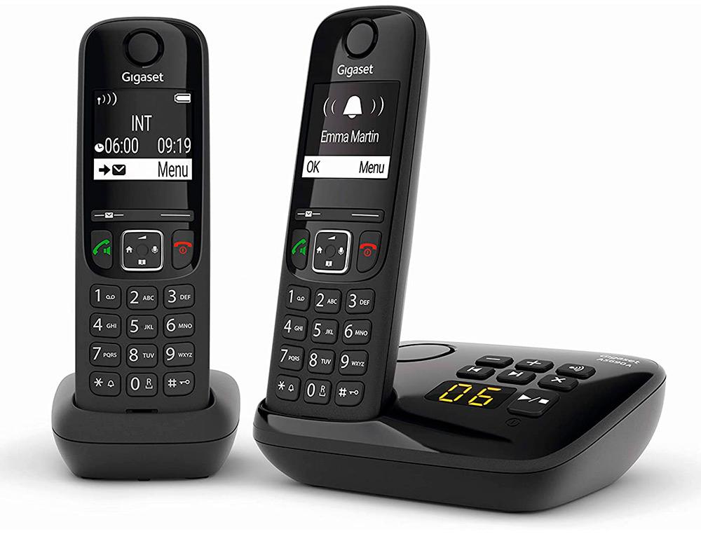 TÉLÉPHONE SANS FIL DECT AS490 PACK DUO
