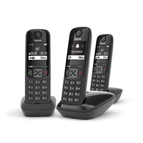 TÉLÉPHONE SANS FIL DECT AS490 PACK TRIO