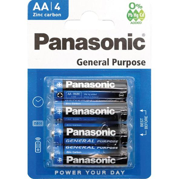 PANASONIC PILE AA R6