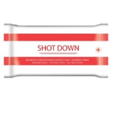 SHOT DOWN LINGETTES