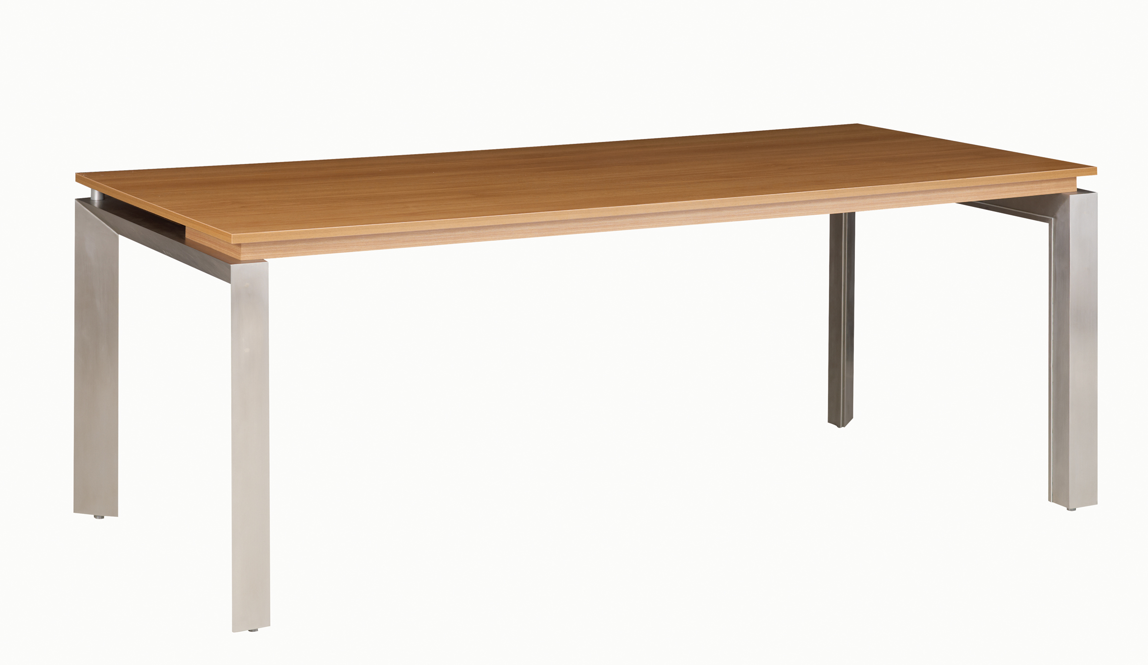 Sliver noyer bureau bois cm mobilier de direction par famille