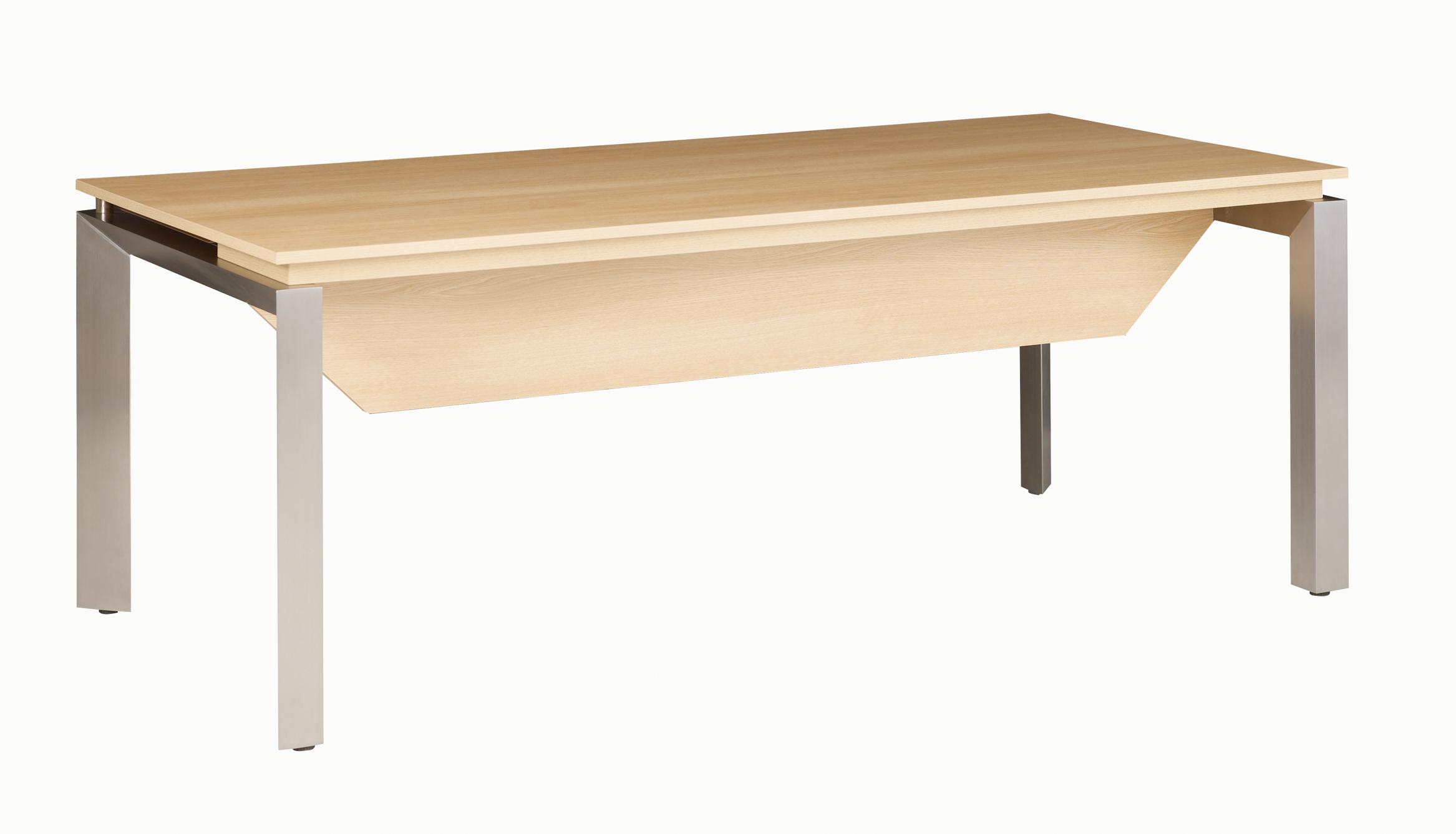 Sliver chÊne bureau bois 190cm voile de fond mobilier de
