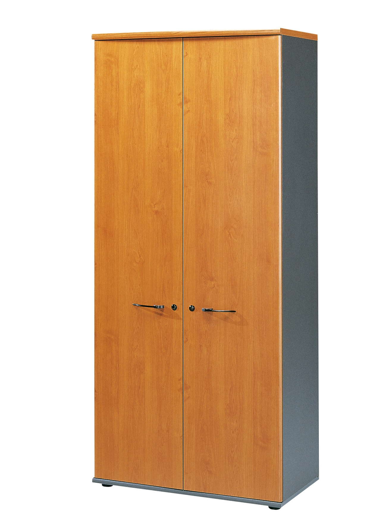 jazz aulne armoire 2 portes 80cm rangements meubles armoires. Black Bedroom Furniture Sets. Home Design Ideas