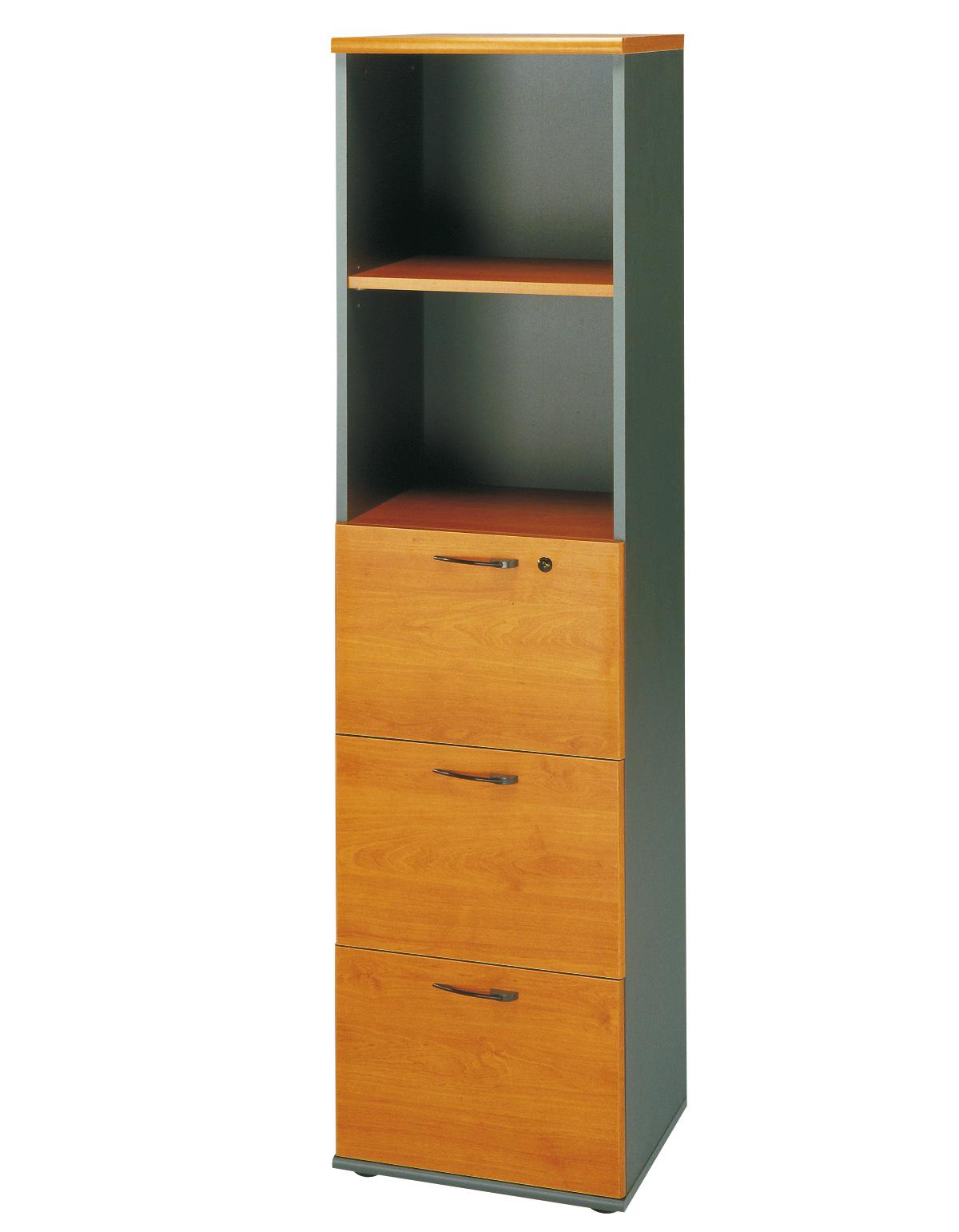 Jazz aulne colonne rangements meubles armoires for Meuble bureau jazz