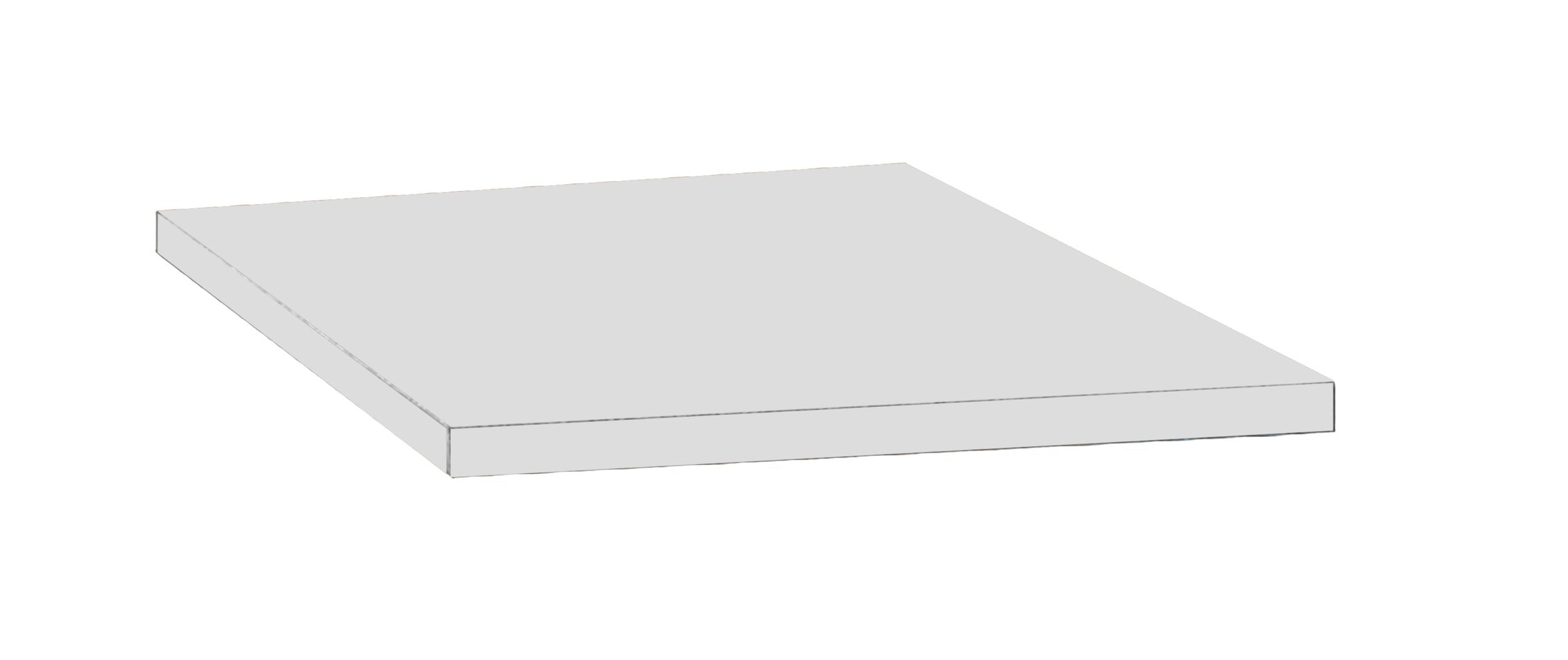 TOP POUR CAISSON MOBILE 42CM GRIS