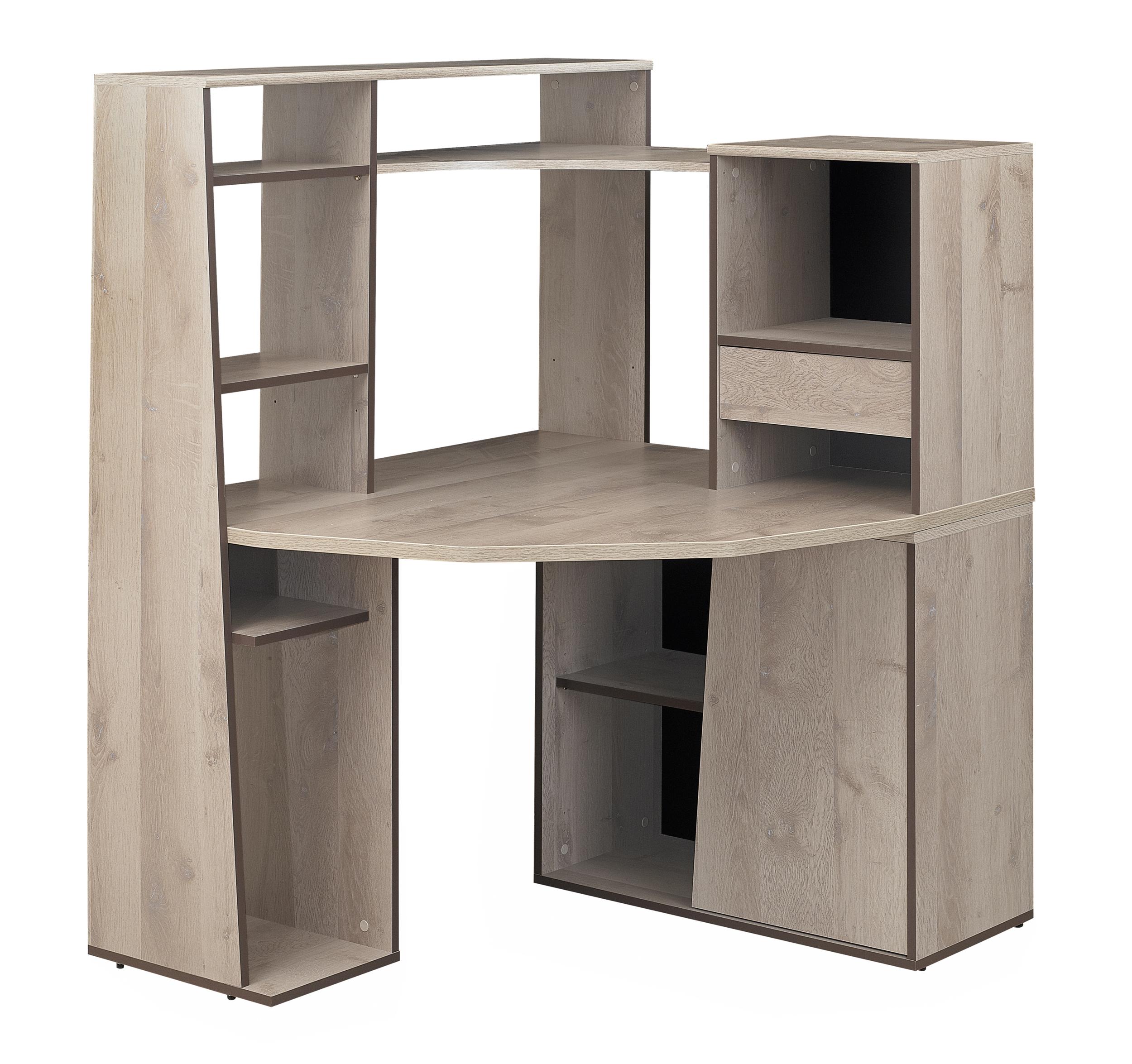 Mambo ch ne gris bureau informatique mobilier par for Bureau informatique gris