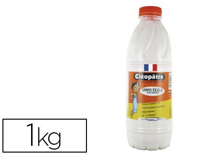 Cleopatre colle vinylique bidon 1kg petites fournitures colles - Colle cleopatre auchan ...