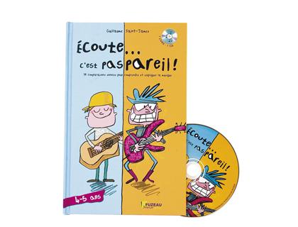 ECOUTE C\'EST PAS PAREIL COFFRET MUSICAL 4-5 ANS