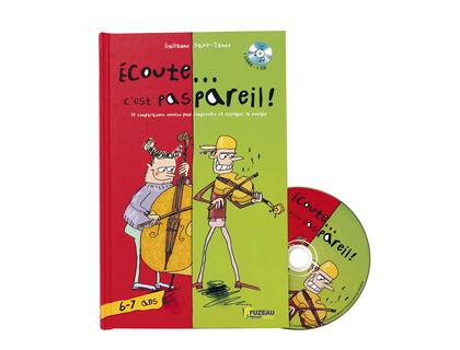 ECOUTE C\'EST PAS PAREIL COFFRET MUSICAL 6-7 ANS
