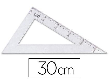 ÉQUERRE ÉCO 60° GRADUÉE 30CM