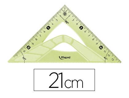 ÉQUERRE FLEX 45° GRADUÉE 21CM
