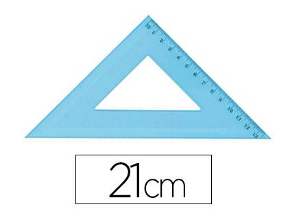 ÉQUERRE 45° GRADUÉE 21cm