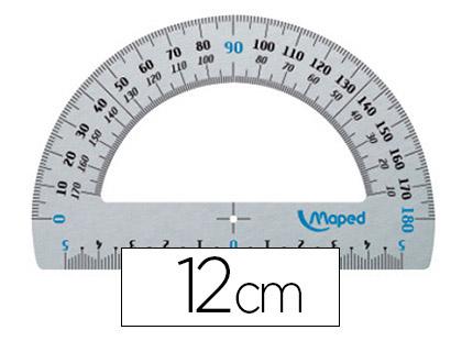 MAPED ALU RAPPORTEUR 180° 12cm
