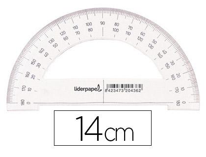 LIDERPAPEL ÉCO RAPPORTEUR 180° 14cm