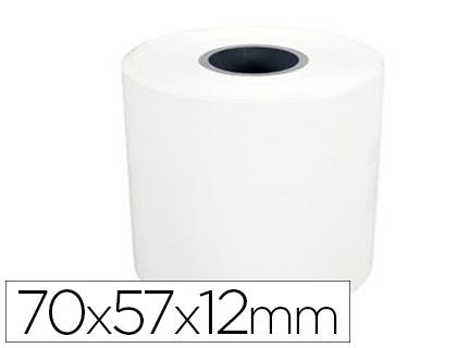 SCHADES BOBINE CAISSE ET CALCULATRICE 70x57x12mm autocopiant