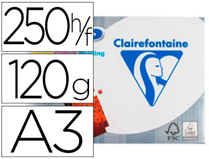 CLAIREFONTAINE DCP A3 120G