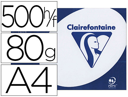 CLAIREFONTAINE CLAIRALFA A4 80G