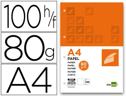 LIDERPAPEL PAPIER A4 80G