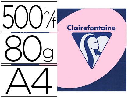 CLAIREFONTAINE TROPHÉE ROSE PASTEL A4 80G