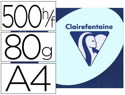 CLAIREFONTAINE TROPHÉE BLEU PASTEL A4 80G