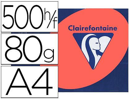 CLAIREFONTAINE TROPHÉE ROUGE CARDINAL A4 80G