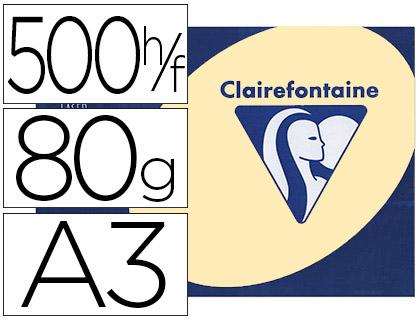 CLAIREFONTAINE TROPHÉE JAUNE CANARI A3
