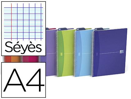 MY COLOURS 21X29.7CM 180 PAGES SÉYÈS ASSORTIS