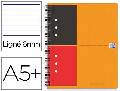 ACTIVEBOOK A5+ 160 PAGES LIGNÉES