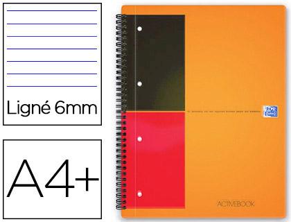ACTIVEBOOK A4+ 160 PAGES LIGNÉES