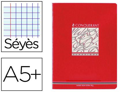 PIQUÉ CLASSIQUE 17X22CM 140 PAGES SÉYÈS