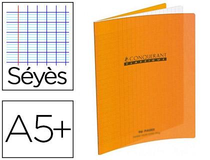 PIQUÉ POLYPRO 17X22CM 48 PAGES SÉYÈS ORANGE