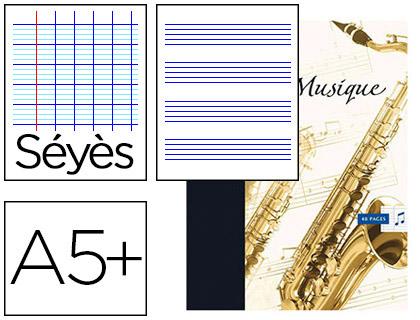 OXFORD CAHIER DE MUSIQUE ET CHANT 17x22cm 48 PAGES
