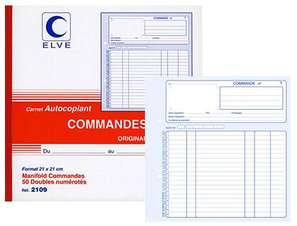 COMMANDES 50 DUPLIS 21X21CM