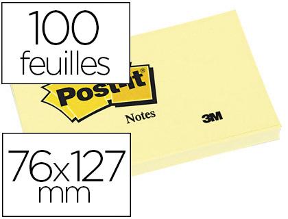 POST-IT N°655 76X127MM