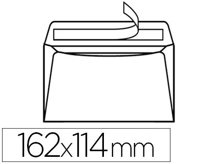 500 ENVELOPPES C6 80g ADHÉSIVES