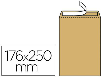 500 POCHETTES KRAFT B5