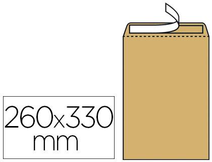 250 POCHETTES KRAFT 24