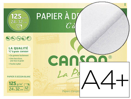 C A GRAIN A4+ 125G POCHETTE DE 12