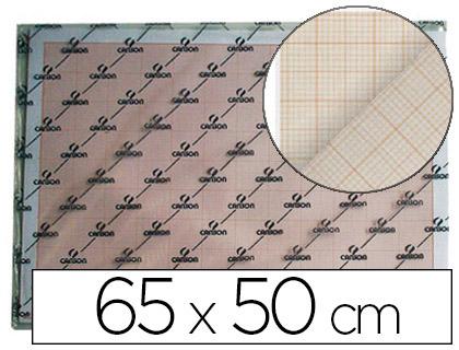 CANSON FEUILLES MILLIMÉTRÉES BISTRE 50x65cm