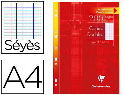 COPIES DOUBLES CLAIREFONTAINE - 21519