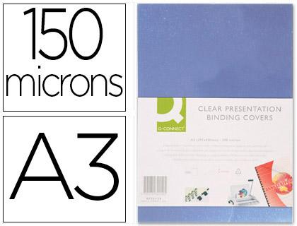 PLAT PVC 150g/m2 A3 INCOLORE