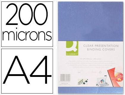 PLAT PVC 200g/m2 A4 INCOLORE