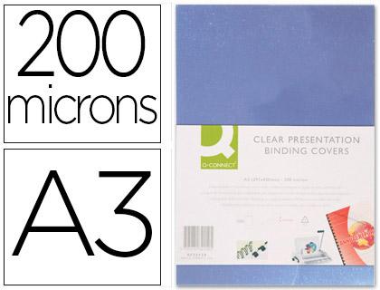 PLAT PVC 200g/m2 A3 INCOLORE