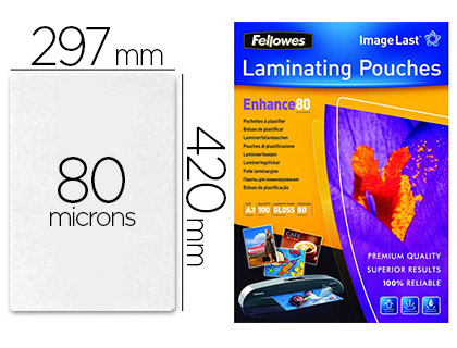 FELLOWES A3 80 Microns