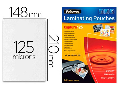 FELLOWES A5 125 Microns