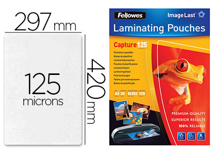 FELLOWES A3 125 Microns