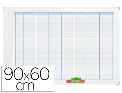 PLANNING HEBDOMADAIRE MAGNÉTIQUE 90X60CM