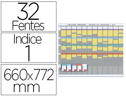 KIT PLANNING 13 COLONNES 66X77.2CM