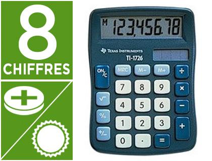 TEXAS INSTRUMENTS TI-1726 8 CHIFFRES
